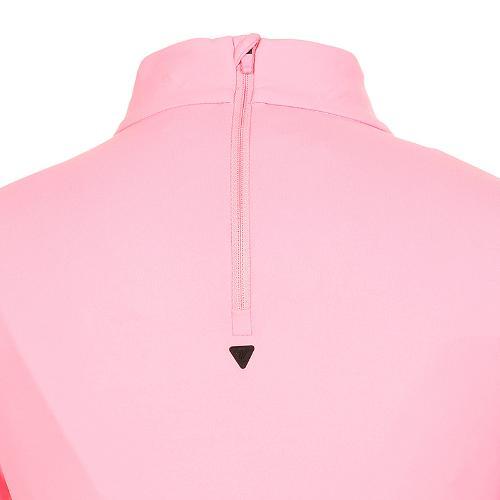 [볼빅골프웨어] 여성 골프 비비드 반폴라 긴팔 티셔츠 VLTSK910_PK