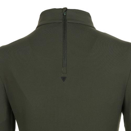 [볼빅골프웨어] 여성 골프 비비드 반폴라 긴팔 티셔츠 VLTSK910_DK