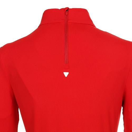 [볼빅골프웨어] 여성 골프 비비드 반폴라 긴팔 티셔츠 VLTSK910_RE