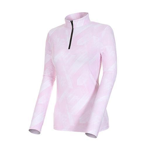 [볼빅골프웨어] 여성 골프 소프트 반집업 긴팔 티셔츠 VLTSK202_PK