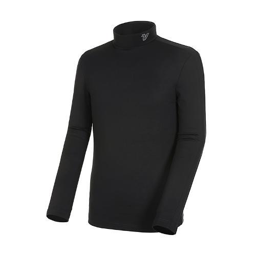 [볼빅골프웨어] 남성 골프 기모 스트레치 베이스레이어 VMBSK991_BK