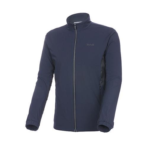 [볼빅골프웨어] 남성 골프 배색 포인트 바람막이 점퍼 VMWBKD81_NA