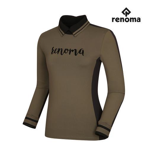 [레노마골프]여성 배색 로고 카라 티셔츠 RWTPI7111-816_G