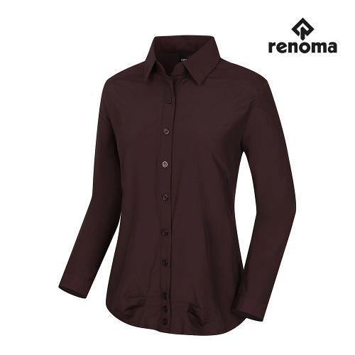 [레노마골프]여성 솔리드 긴팔 셔츠 RWBSH7609-415_G