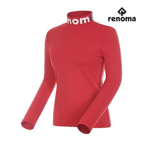 [레노마골프]여성 레터링 하이넥 스트레치 티셔츠 RWTHG7108-500_G