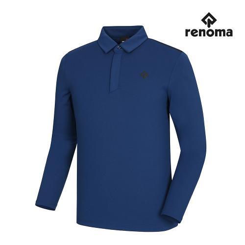 [레노마골프]남성 어깨 배색 포인트 카라 티셔츠 RMTYI3123-913_G
