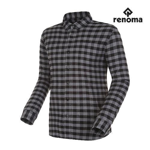 [레노마골프]남성 깅엄 체크 버튼다운 코튼 셔츠 RMBSG3603-192_G
