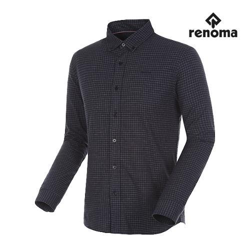 [레노마골프]남성 윈도우페인 체크 버튼다운 셔츠 RMBSG3602-915_G