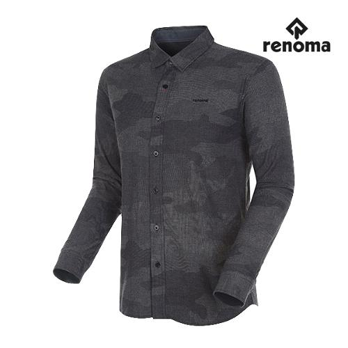 [레노마골프]남성 카모플라쥬 버튼다운 셔츠 RMBSG3604-915_G