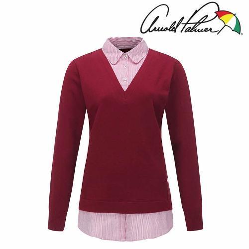 아놀드파마 여성 기능성 레이어드 셔츠 ALW9SH91-DR