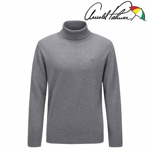 아놀드파마 남성 기본 터틀넥 스웨터 AMW9SH61-GY