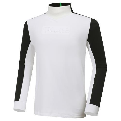 [와이드앵글] 남성 ELITE 피레티 변형 반넥 긴팔 티셔츠 M WMW20201W3