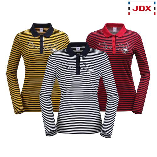 JDX 여성 카라 모티브 포인트 요꼬 티셔츠 3종 택1 X2QFTLW94