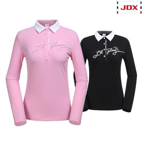 JDX 여성 앞판포인트 모티브티셔츠 2종 택1 X1QFTLW54