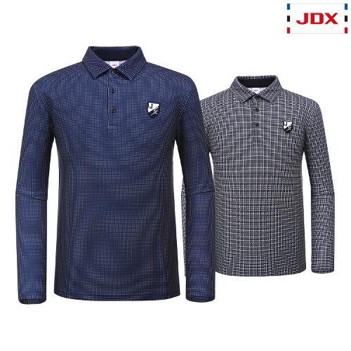 JDX 남성 전판 프린트카라 티셔츠 2종 택1 X1QFTLM06