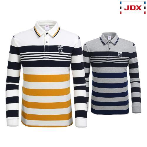 JDX 남성 멀티 스트라이프 카라 티셔츠 2종 택1 X2QFTLM02