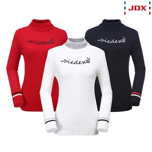 JDX 여성 조직변형 하이넥스웨터 3종 택1 X1QFSPW91