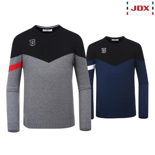 JDX 남성 포인트 라운드스웨터 2종 택1 X1QFSPM03