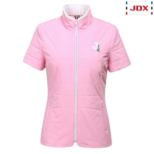 JDX 여성 와펜포인트 반팔 패딩 X1QFWBW52PI