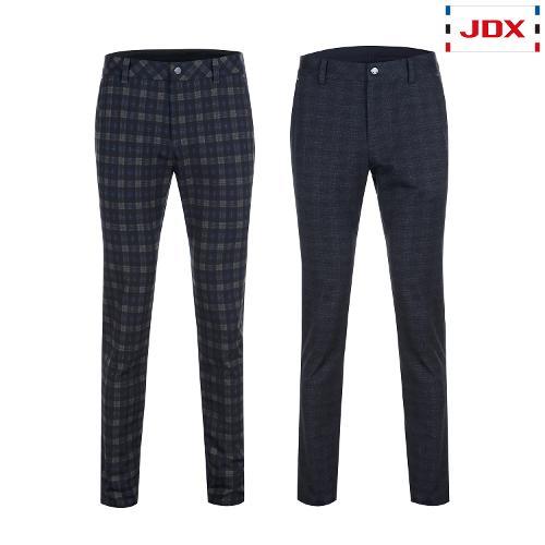 JDX 남성 전판체크 프린트팬츠 2종 택1 X2QFPTM44