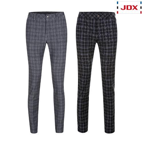 JDX 남성 트리코트 체크 프린트 팬츠 2종 택1 X1QFPTM41