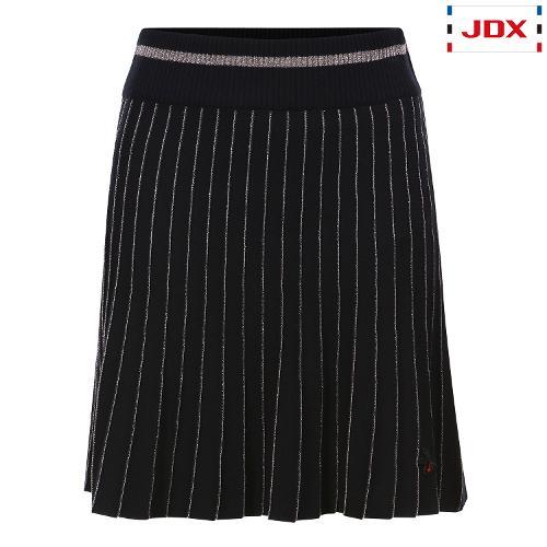 JDX 여성 메탈사 포인트 니트 큐롯 X1QFPQW56BK
