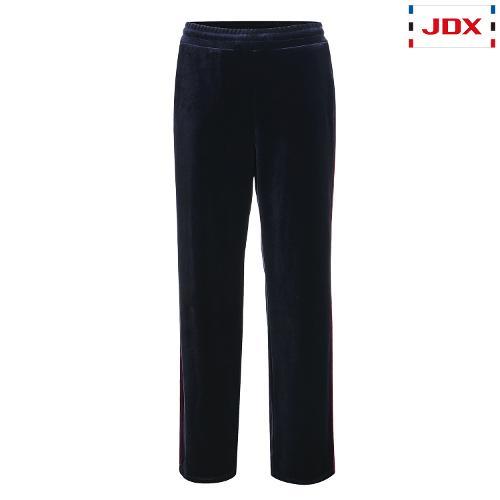 JDX 여성 컬러 블록 벨벳 트레이닝 팬츠 X3QFPBW72NA