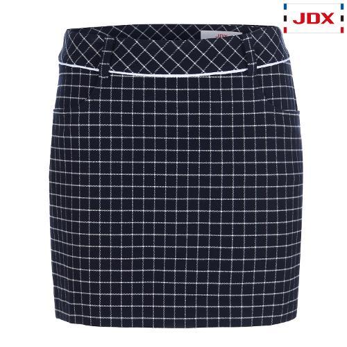 JDX 여성 윈도우 체크 패턴 큐롯 X1QFPQW55NA