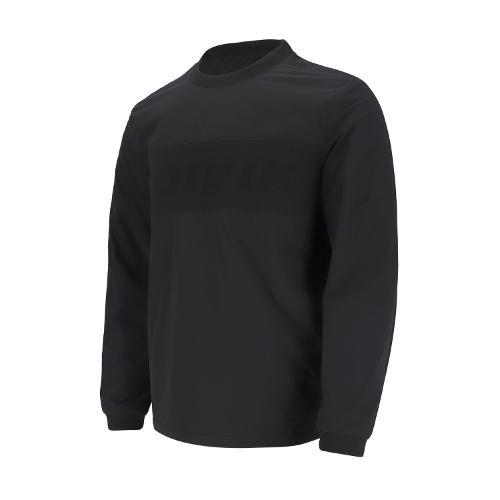 [볼빅골프웨어] 남성 골프 베이직 로고 패딩 아노락 티셔츠 VMWBL901_BK