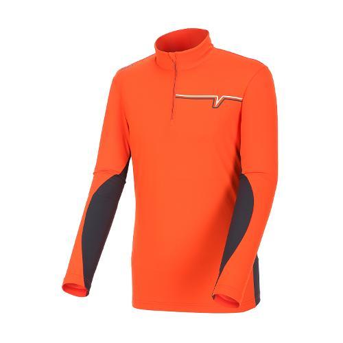 [볼빅골프웨어] 남성 골프 반집업 하이넥 티셔츠 VMTSH823_OR