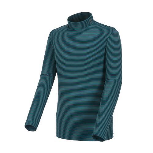 [볼빅골프웨어] 남성 골프 하이넥 긴팔 티셔츠 VMTSH826_MT