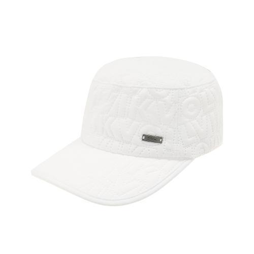 [볼빅골프웨어] 여성 골프 체스셔 웨스트 밀리터리 캡 모자 VLCPH951_WH