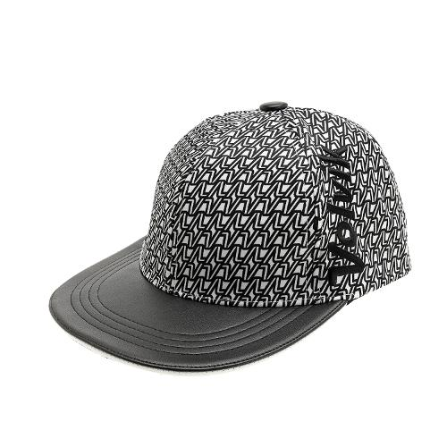 [볼빅골프웨어] 여성 골프 투블럭브이 스냅백 모자 VLCPH856_WH