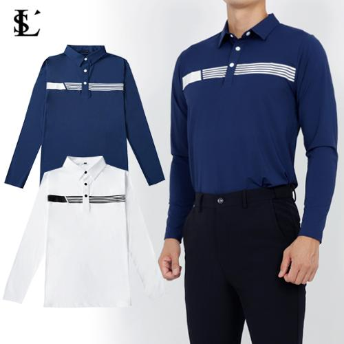 [루센] 남성 라운딩 긴팔티셔츠 2종 택일