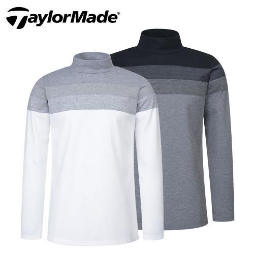 [테일러메이드] 그라데이션 반목 남성 긴팔티셔츠