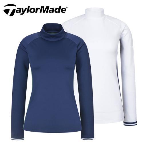 [테일러메이드] 기모 사이드패널 반목 여성 긴팔티셔츠