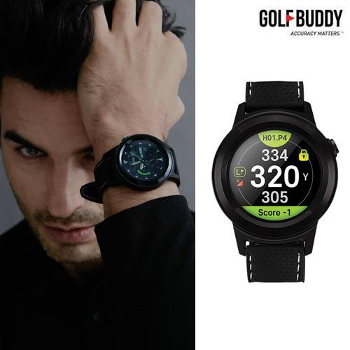 골프버디 GPS 거리측정기/시계형/골프워치 W11