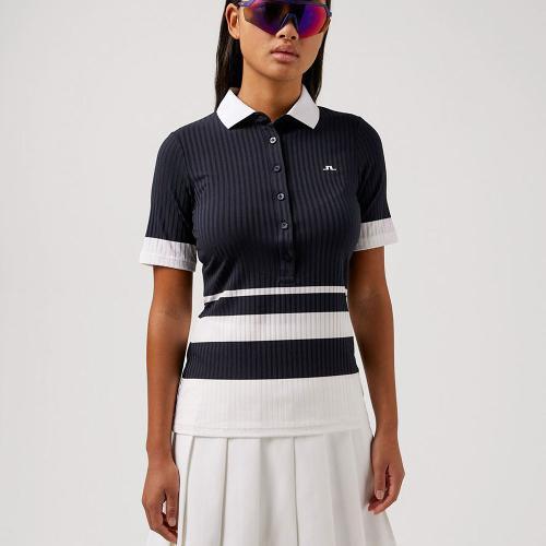 21FW 제이린드버그 여성 준 골프 폴로 셔츠(NV)