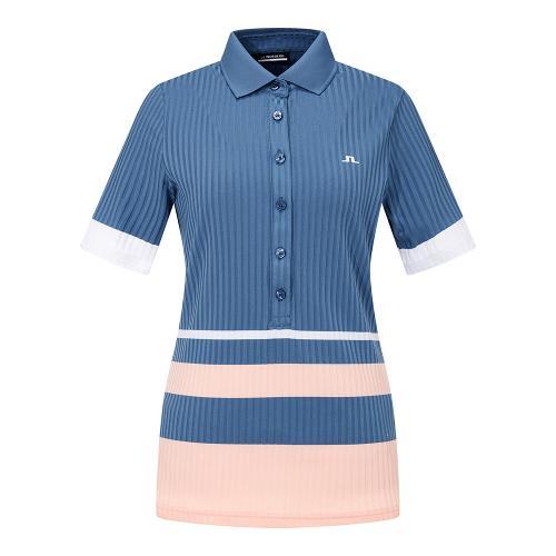 21FW 제이린드버그 여성 준 골프 폴로 셔츠(BU)