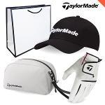테일러메이드 골프 선물(파우치+장갑+모자+쇼핑백)