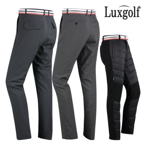 럭스골프 남성 패딩 기모 방한 골프바지 모음