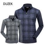 [DUZEK] 듀젝 보아털 기모 니트 집업티셔츠 Model No_CB0495