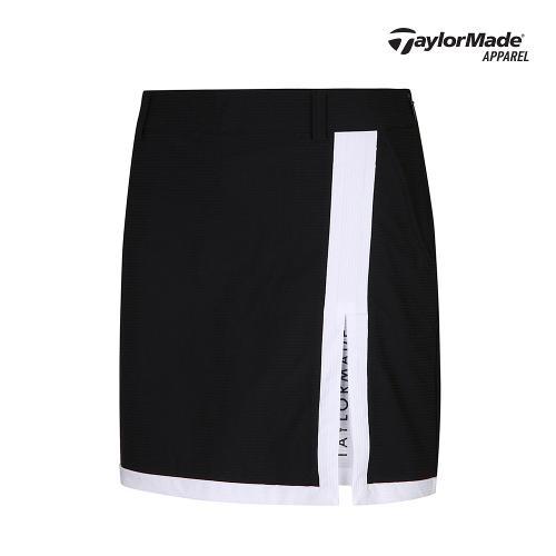 [테일러메이드]여성 조직감 배색 큐롯 TWCUK6998-199