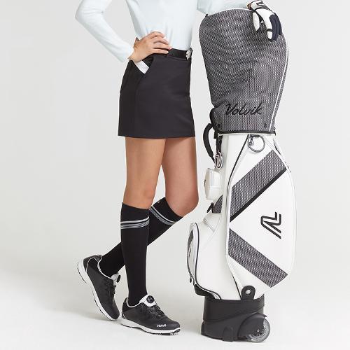 [볼빅골프웨어] 여성 골프 구스다운 큐롯 스커트 VLCUKA11_BK