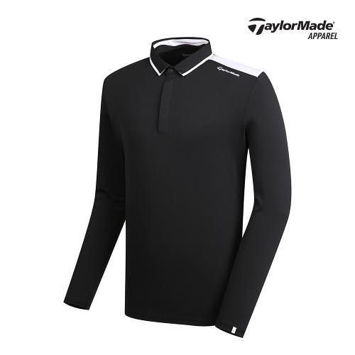 [테일러메이드]남성 배색 포인트 카라 티셔츠 TMTYK1903-199