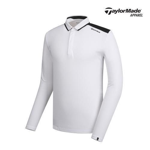 [테일러메이드]남성 배색 포인트 카라 티셔츠 TMTYK1903-100