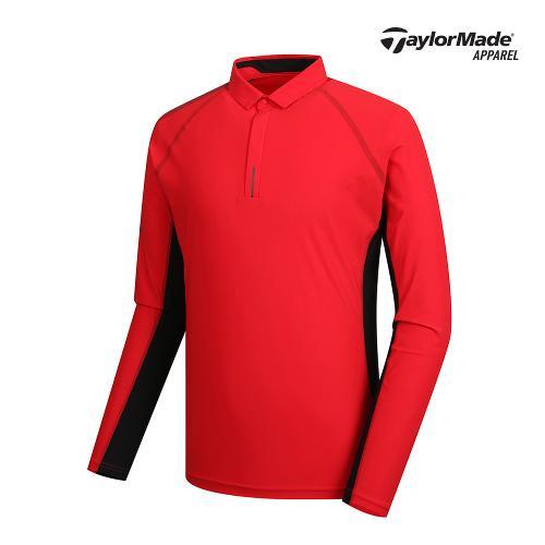 [테일러메이드]남성 소매 프린팅 카라 티셔츠 TMTYK1901-500