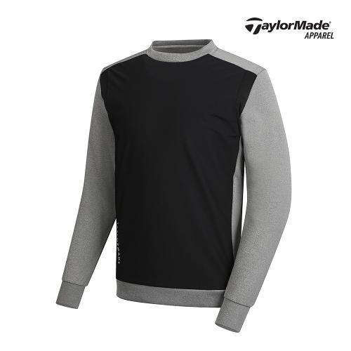 [테일러메이드]남성 배색 포인트 라운드 티셔츠 TMSRK1926-193
