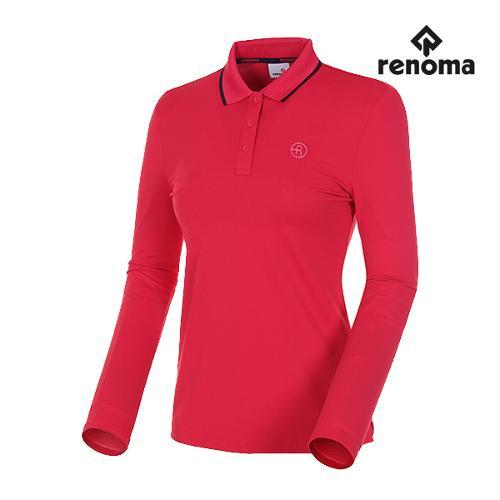 [레노마골프]여성 기능성 솔리드 카라 티셔츠 RWTPH5101-403_G