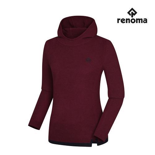 [레노마골프]여성 밑단 포인트 후드 티셔츠 RWSRH8216-415